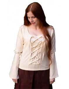 Blusa medieval, dama, Elia.