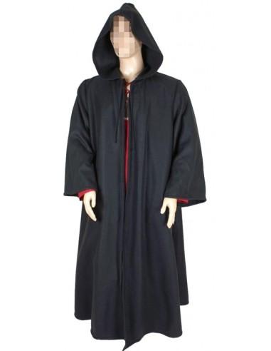 Capa abrigo medieval, hombre.