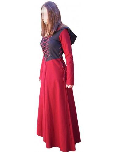 Vestido medieval dama, Eyra.