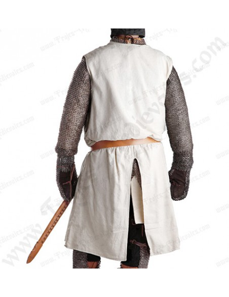 Sobrevesta Templaria, Hugo de Payns, espalda.