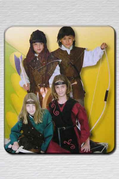 trajes medievales niño