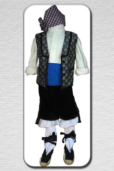 trajes regionales niño